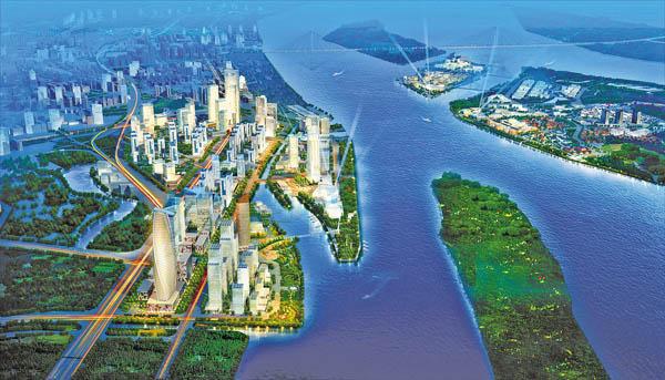 从最早的经济技术开发区,到科学城,还有后来的知识城,生物岛,到了现
